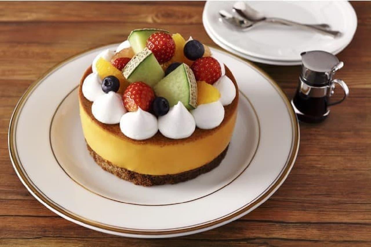 プリンに恋して「デコレーションプリンケーキ」