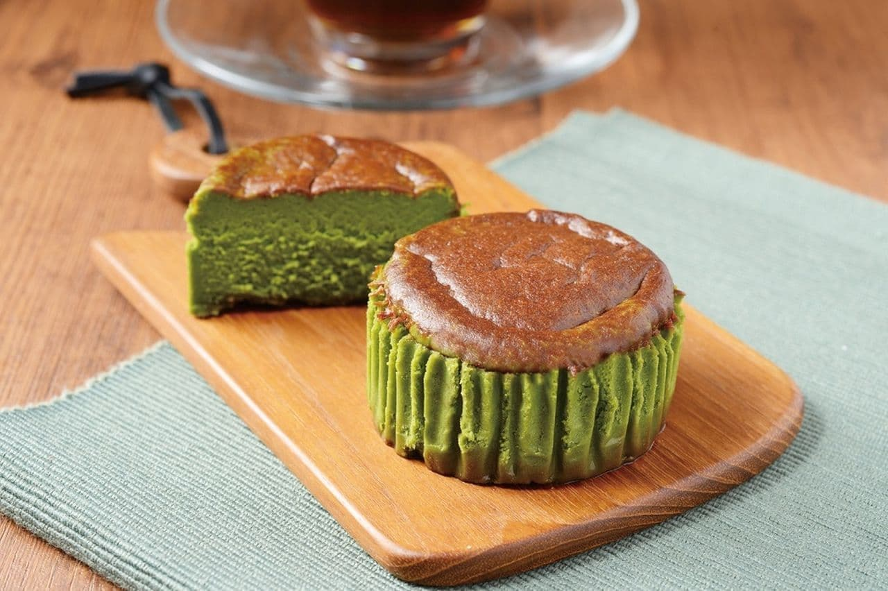 ローソン「バスチー -バスク風抹茶チーズケーキ-」