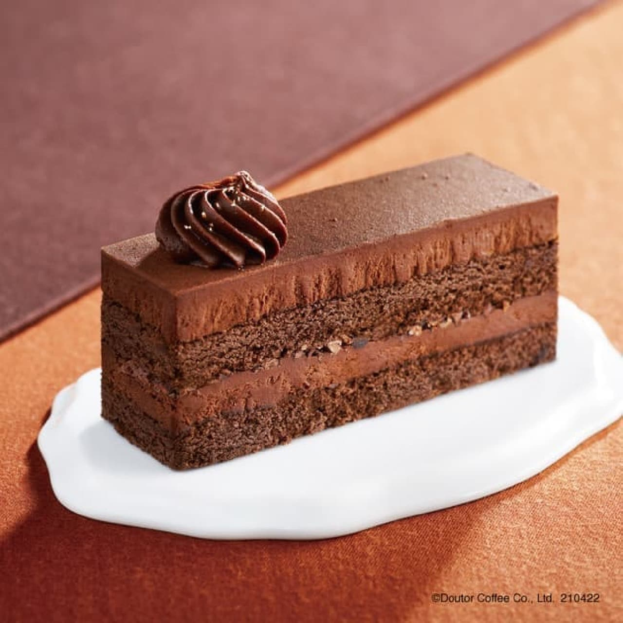 エクセルシオール カフェ「3種のチョコレートケーキ ~ベルギー産クーベルチュールチョコレート使用~」