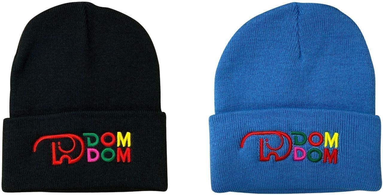 ドムドムハンバーガー「DOMDOM×SPINNS DOMDOM ニット帽」