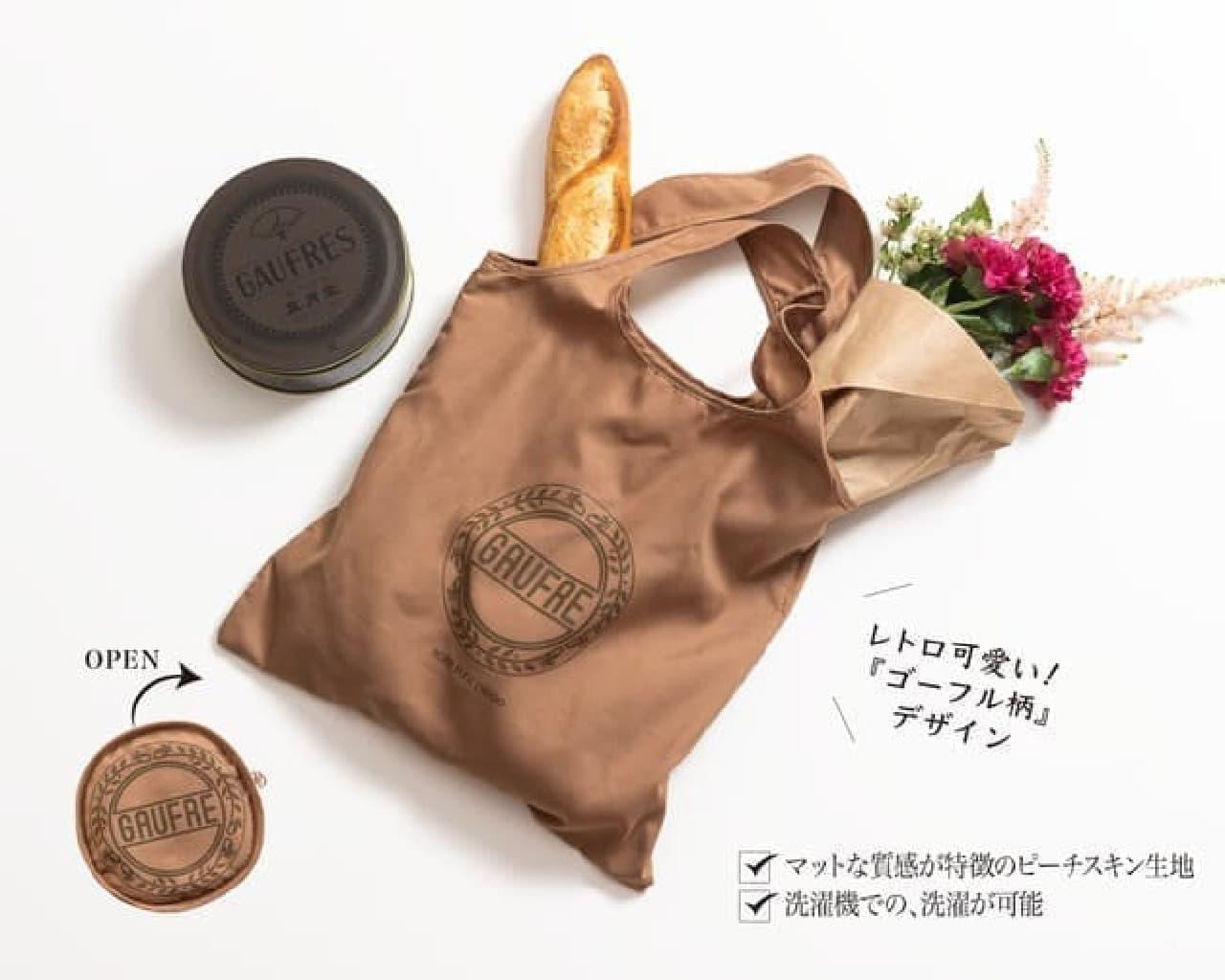 神戸風月堂「母の日アソーテッドスイーツ30B」ゴーフル柄エコバッグ付き