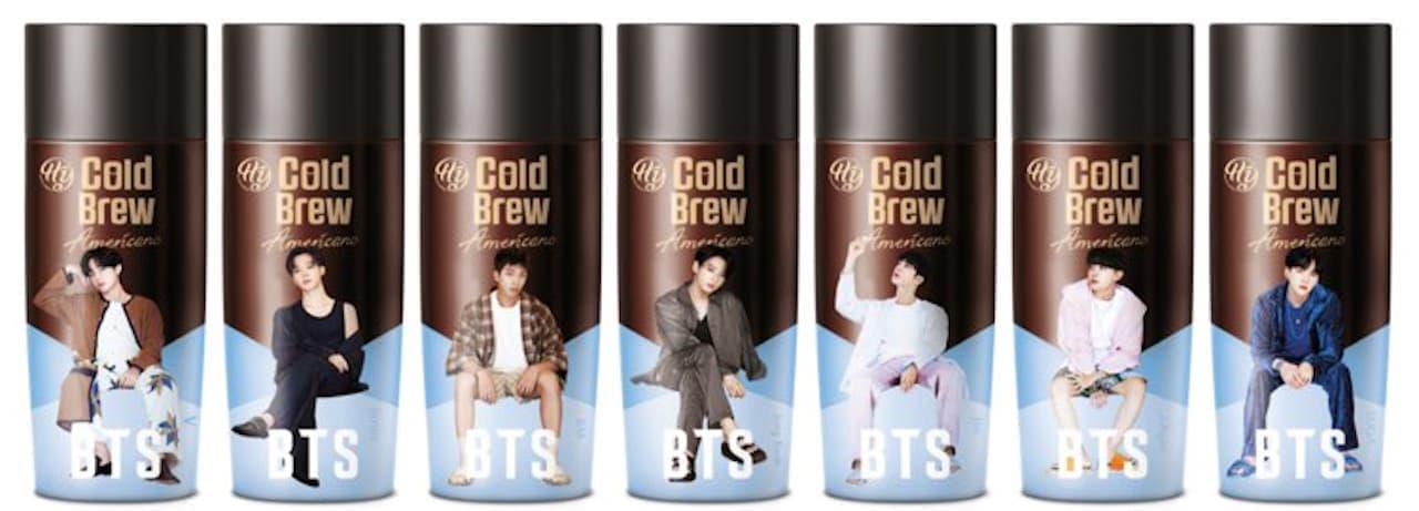 BTSコーヒー「コールドブリューアメリカーノ」