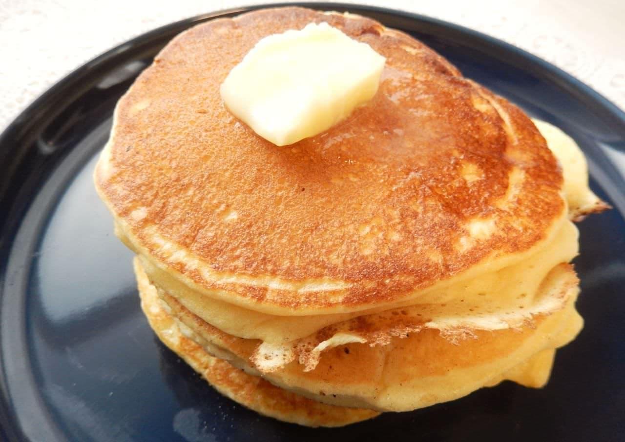 「リコッタ風パンケーキ」のレシピ