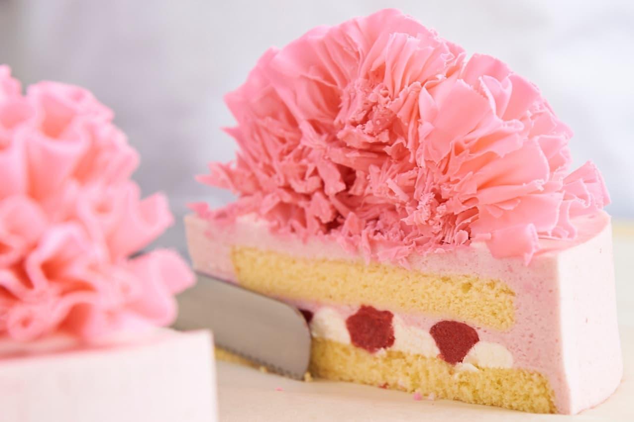 アンテノール 母の日のケーキ「カーネーション」