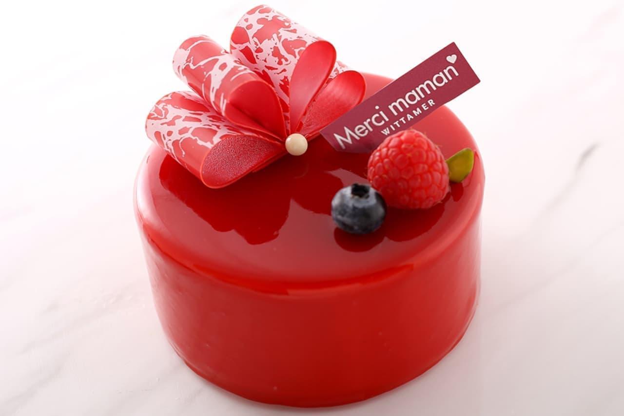 ヴィタメール母の日向けケーキ