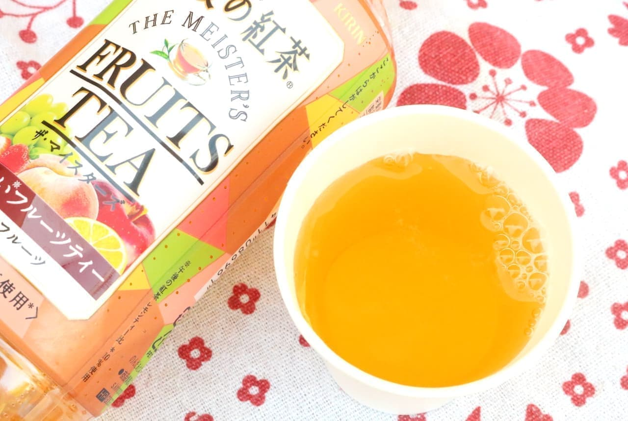 キリン「午後の紅茶 ザ・マイスターズ フルーツティー」