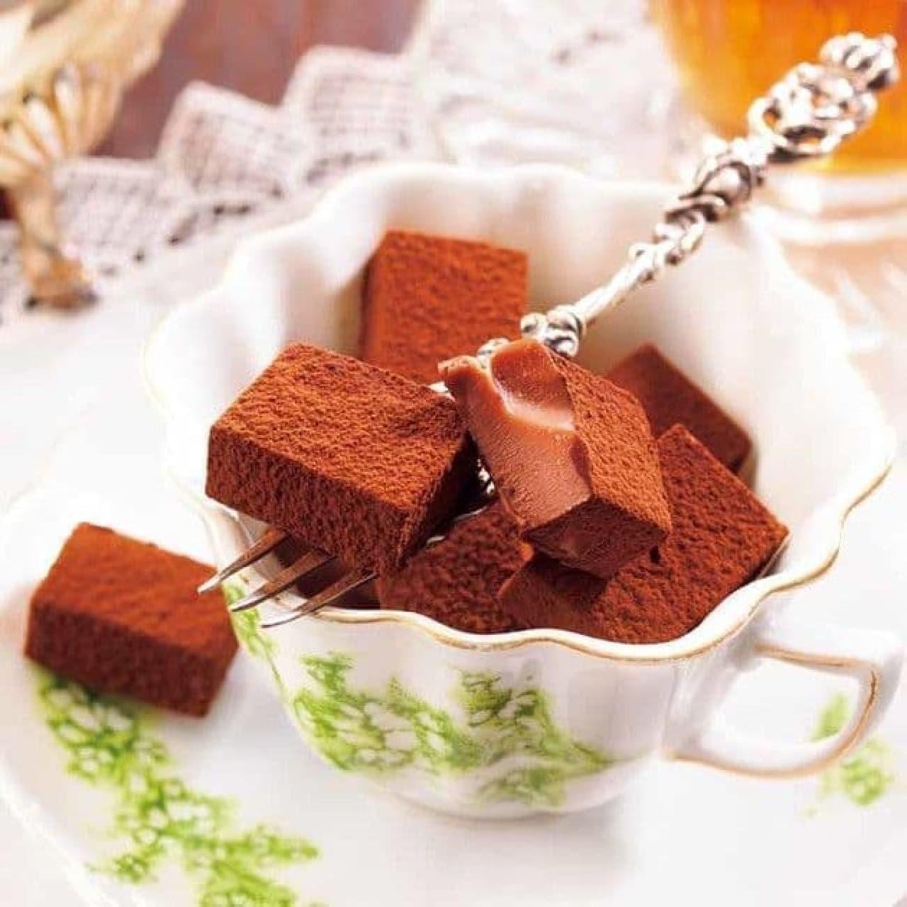 ロイズ「生チョコレート[ダージリン]」