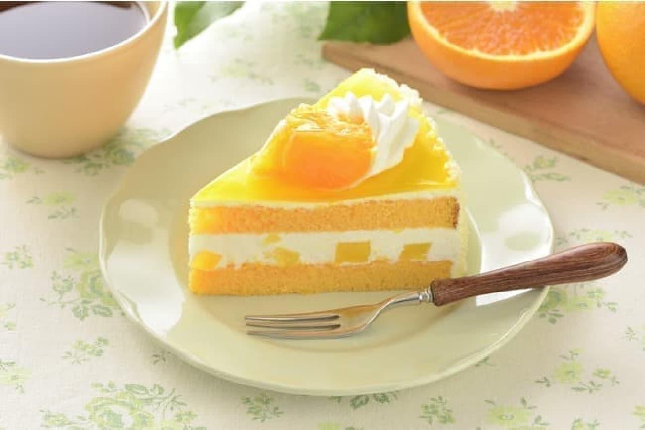 銀座コージーコーナー「清見オレンジショート」