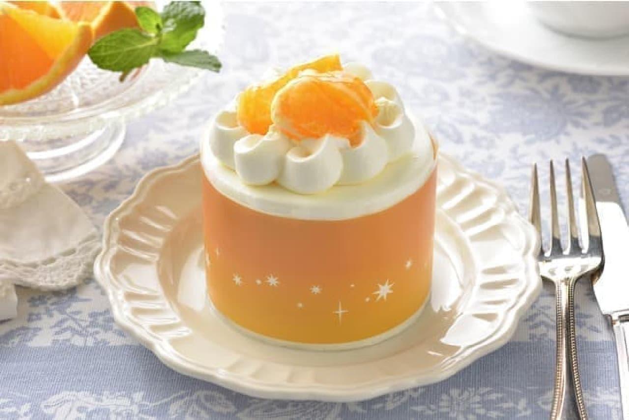 銀座コージーコーナー「コージープリンセス(清見オレンジ)」