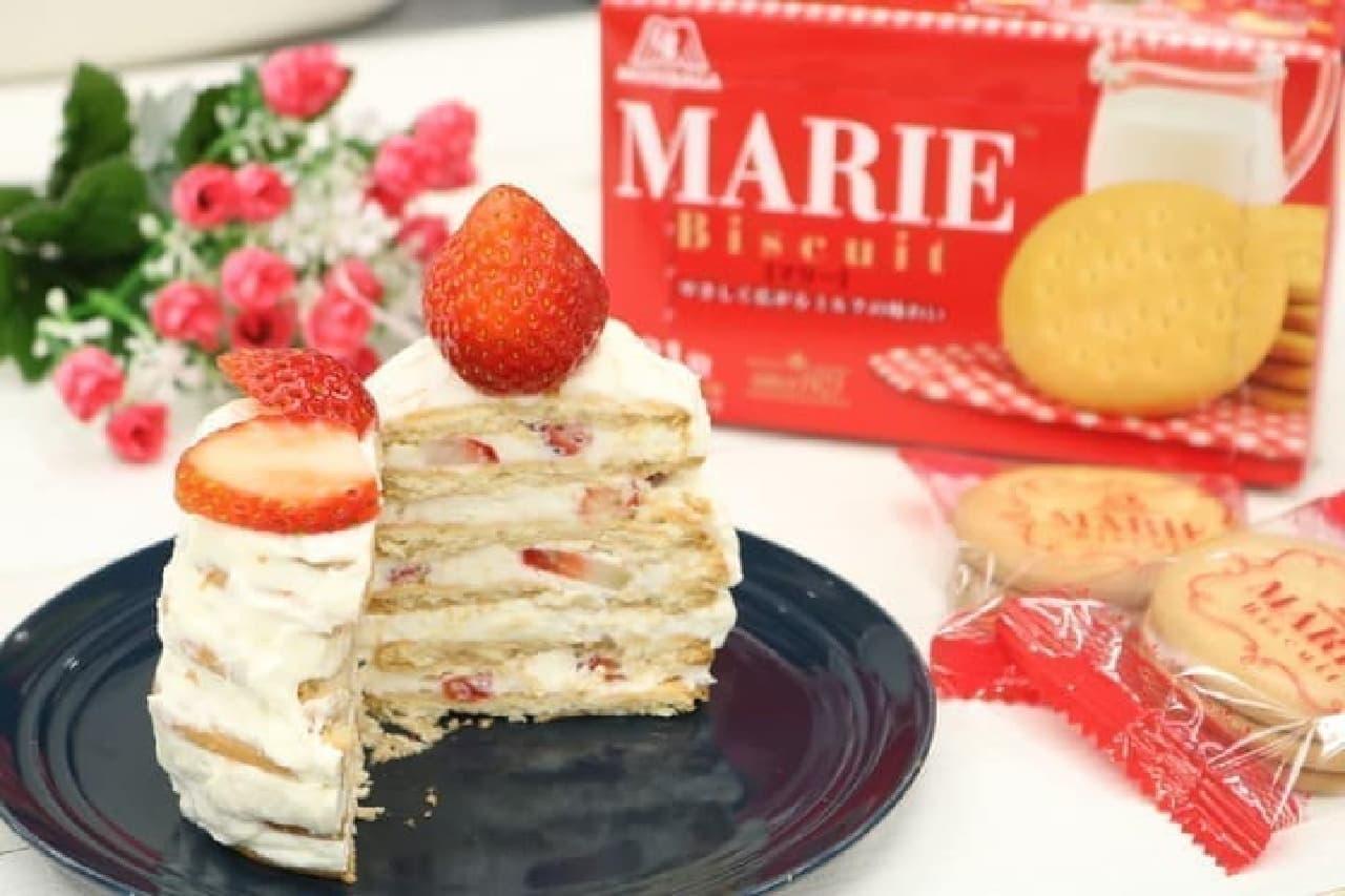絶品「マリービスケットのショートケーキ」など簡単ケーキレシピまとめ
