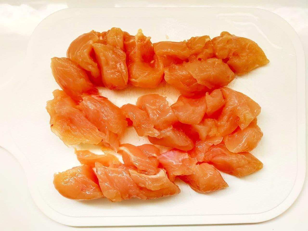 「ささみとキャベツのレンジ蒸し」レシピ