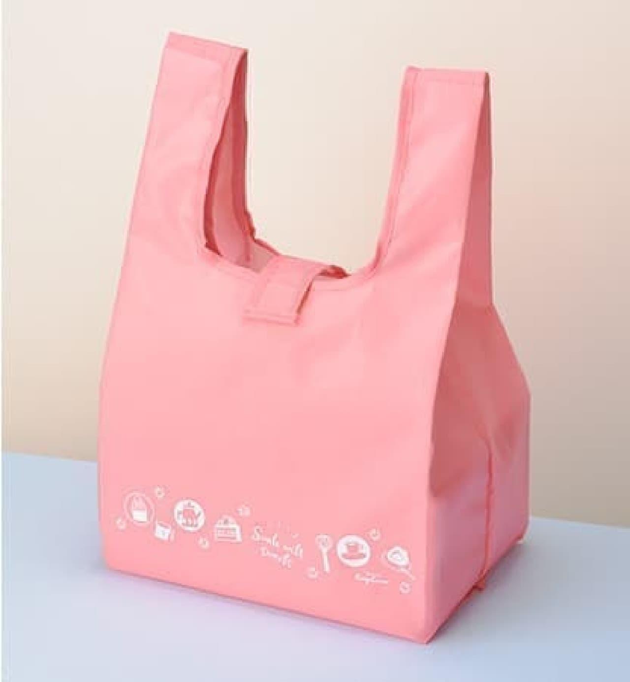 銀座コージーコーナー母の日限定デザインのオリジナルエコバッグ