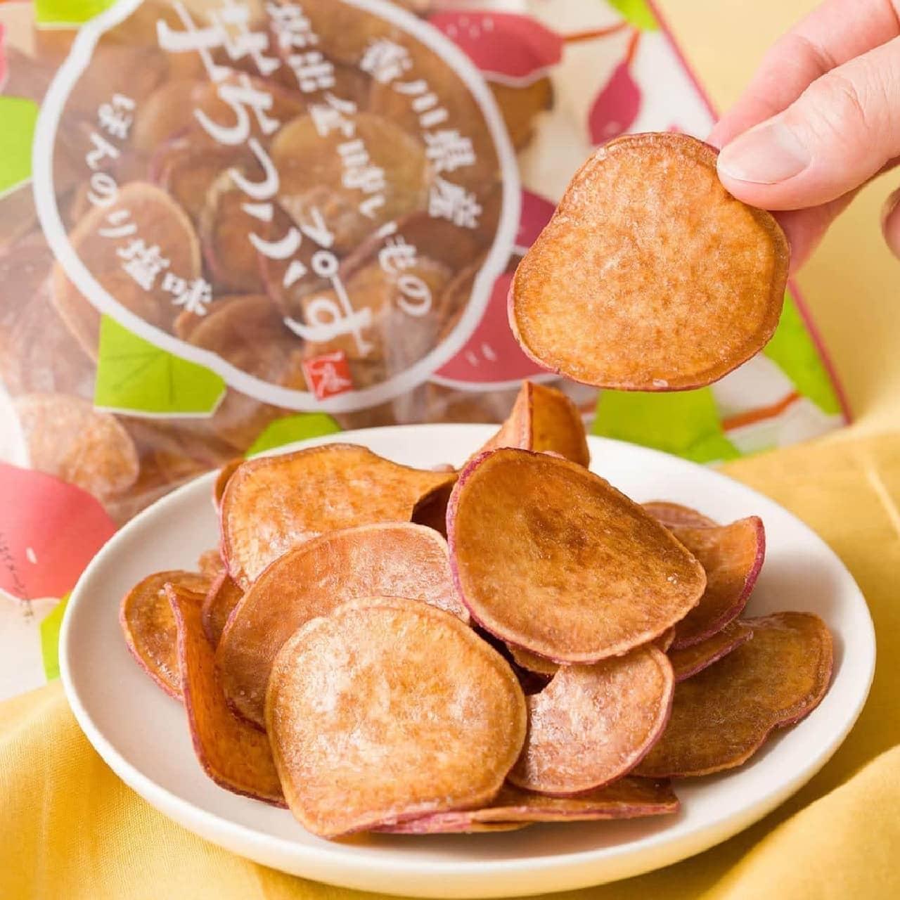 カルディ「もへじ 香川県産坂出金時いもの芋ちっぷす」