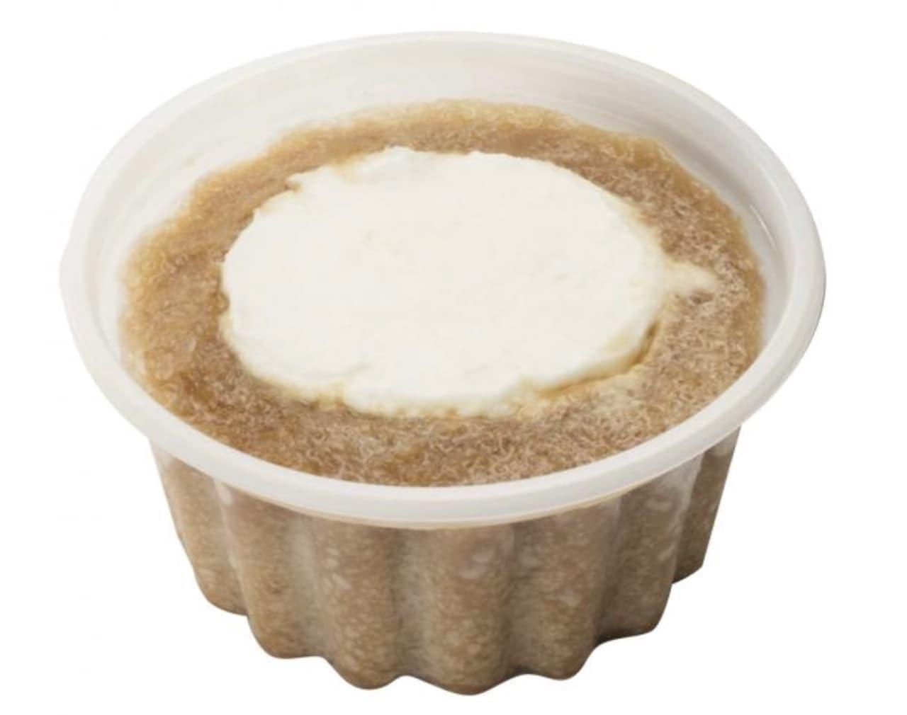 シャトレーゼ「 白州名水かき氷 ミルクジェラートのコーヒーフロート4個入」