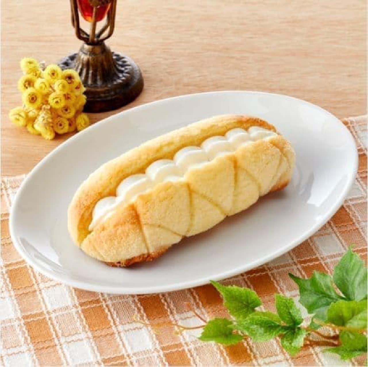 ファミリーマート「ホイップメロンパン」