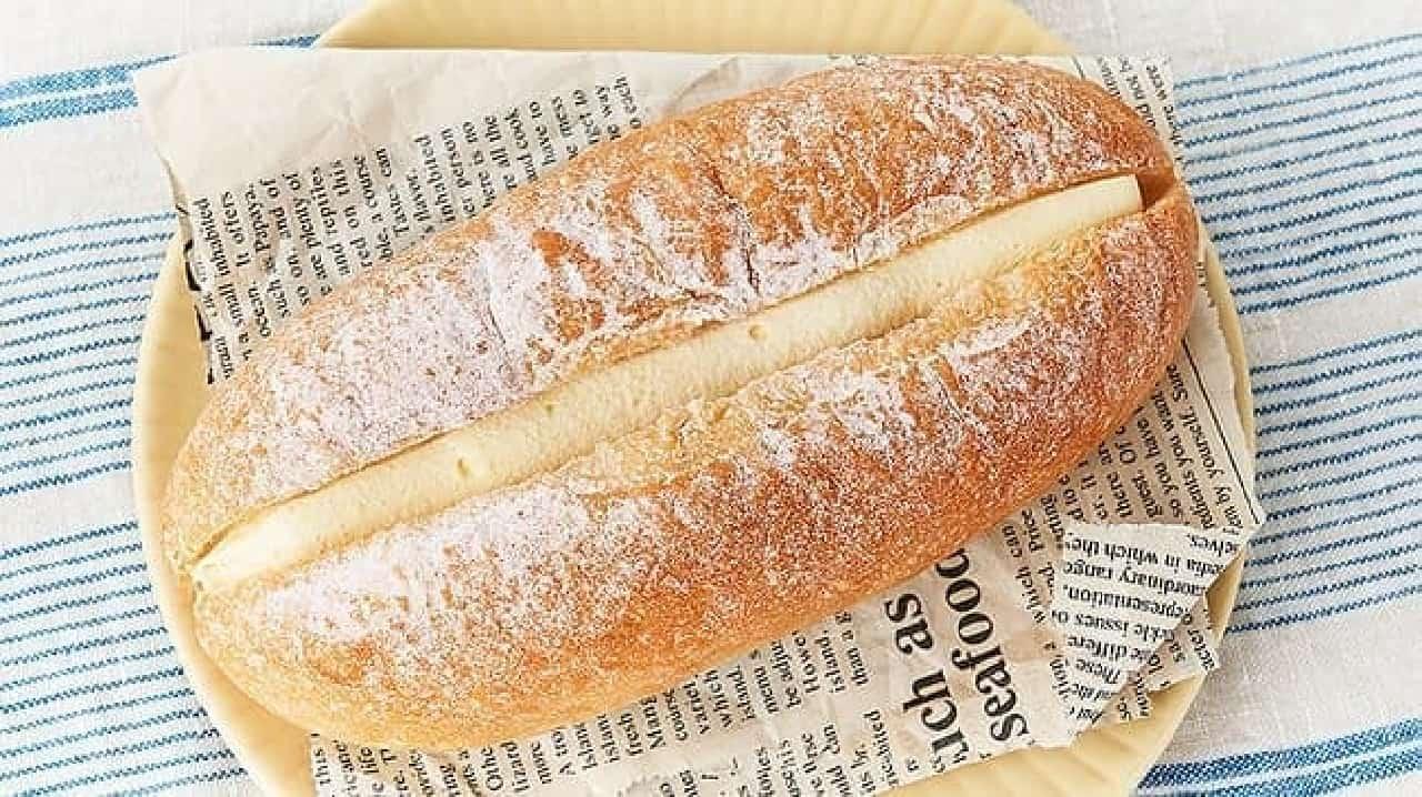 ローソンストア100「VLふわふわクリームのパン」