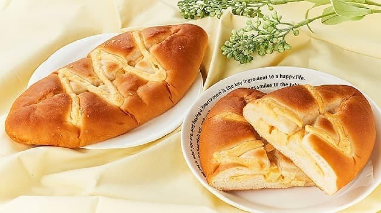 ローソンストア100「VLチーズマヨネーズパン」