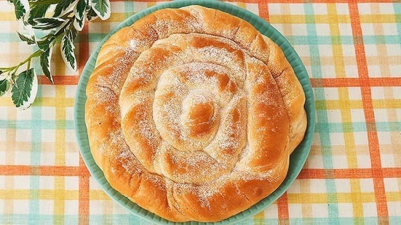 ローソンストア100「VLうずまきミルクパン」