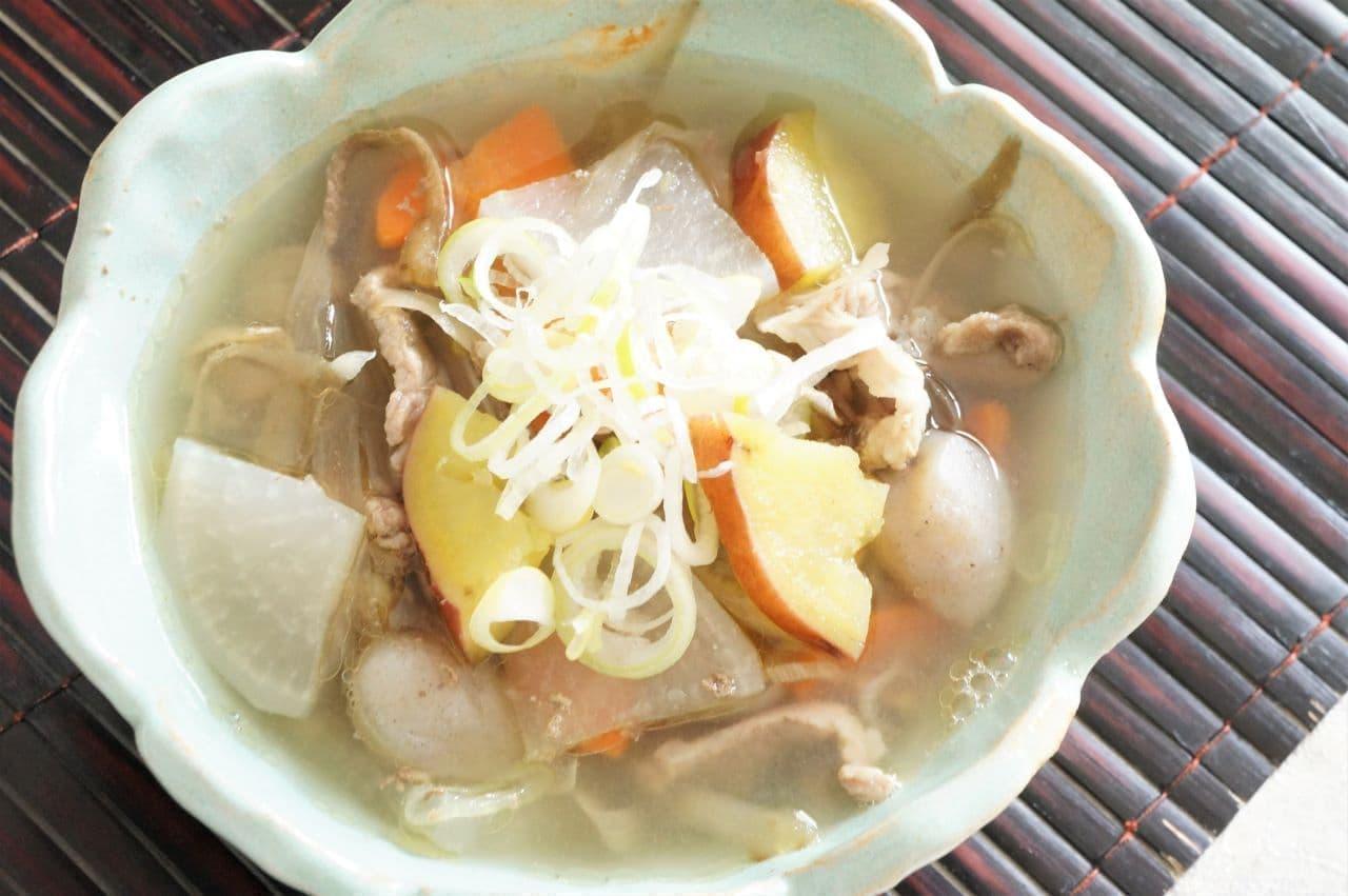 石川県のご当地料理「めった汁」