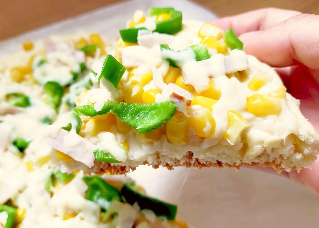 ホットケーキミックスで簡単ピザのレシピ