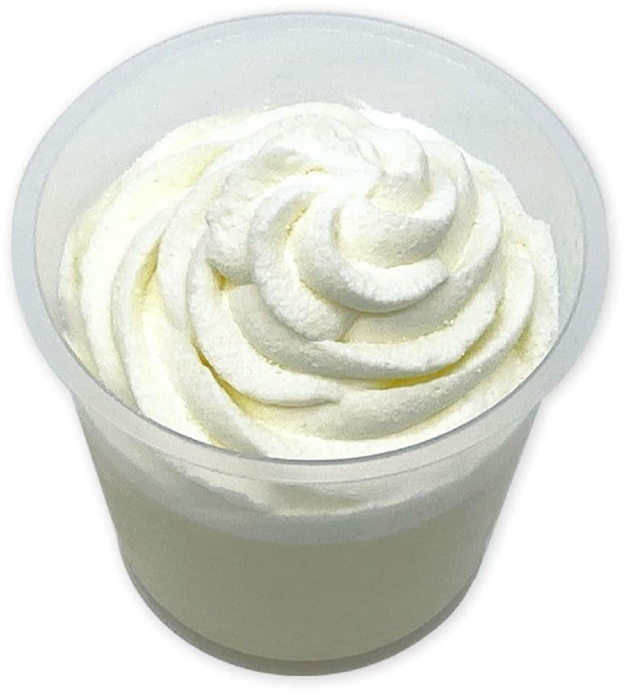 セブン-イレブン「ホイップクリームのミルクプリン」