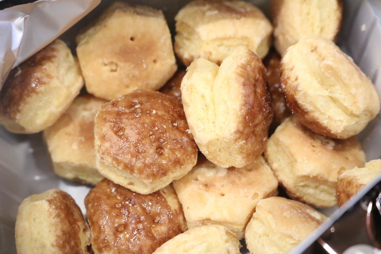 実食「パイの実<特製カラメルプリン>」