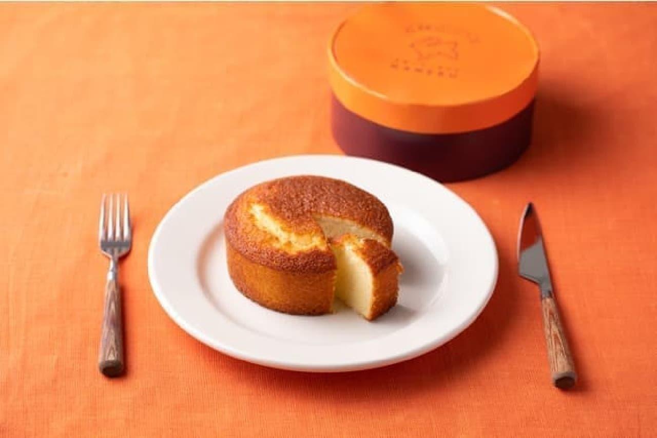 発酵バター専門店ハネル 新作「高級発酵バターケーキ」
