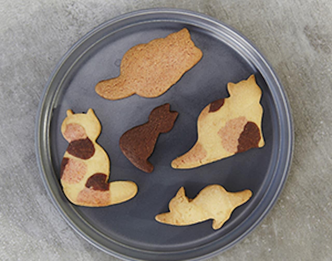 ukafe(ウカフェ)「三毛猫クッキー」