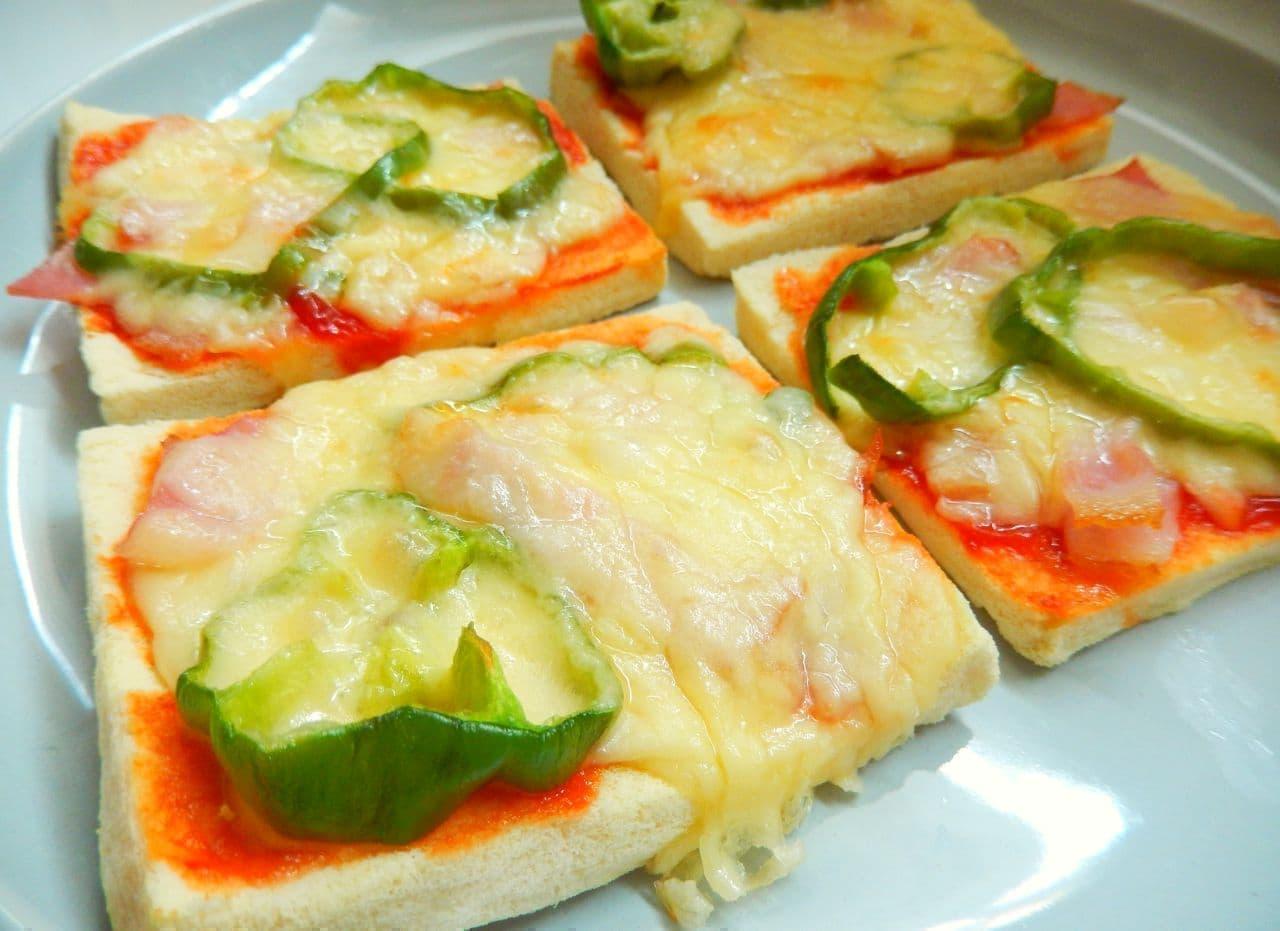 「高野豆腐のピザ」のレシピ