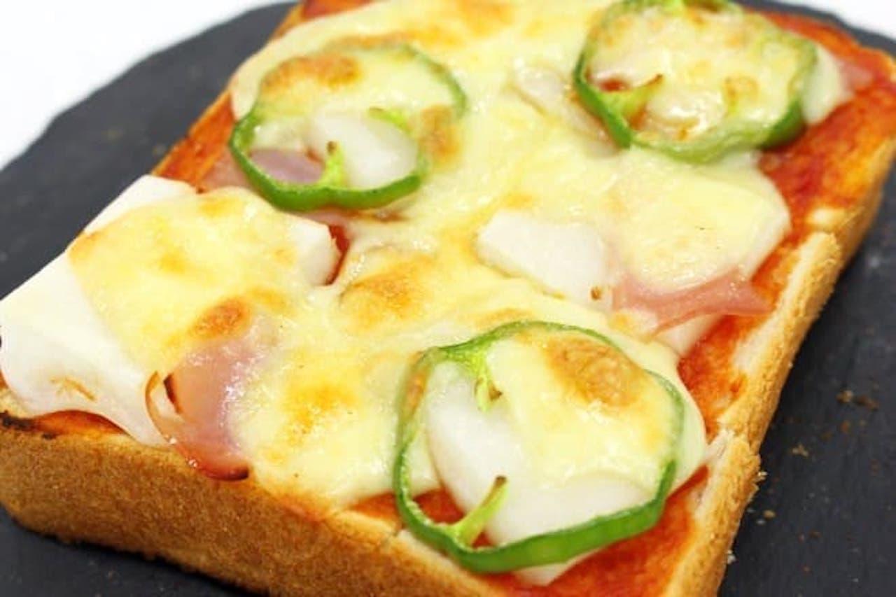 レシピ「お餅トースト」