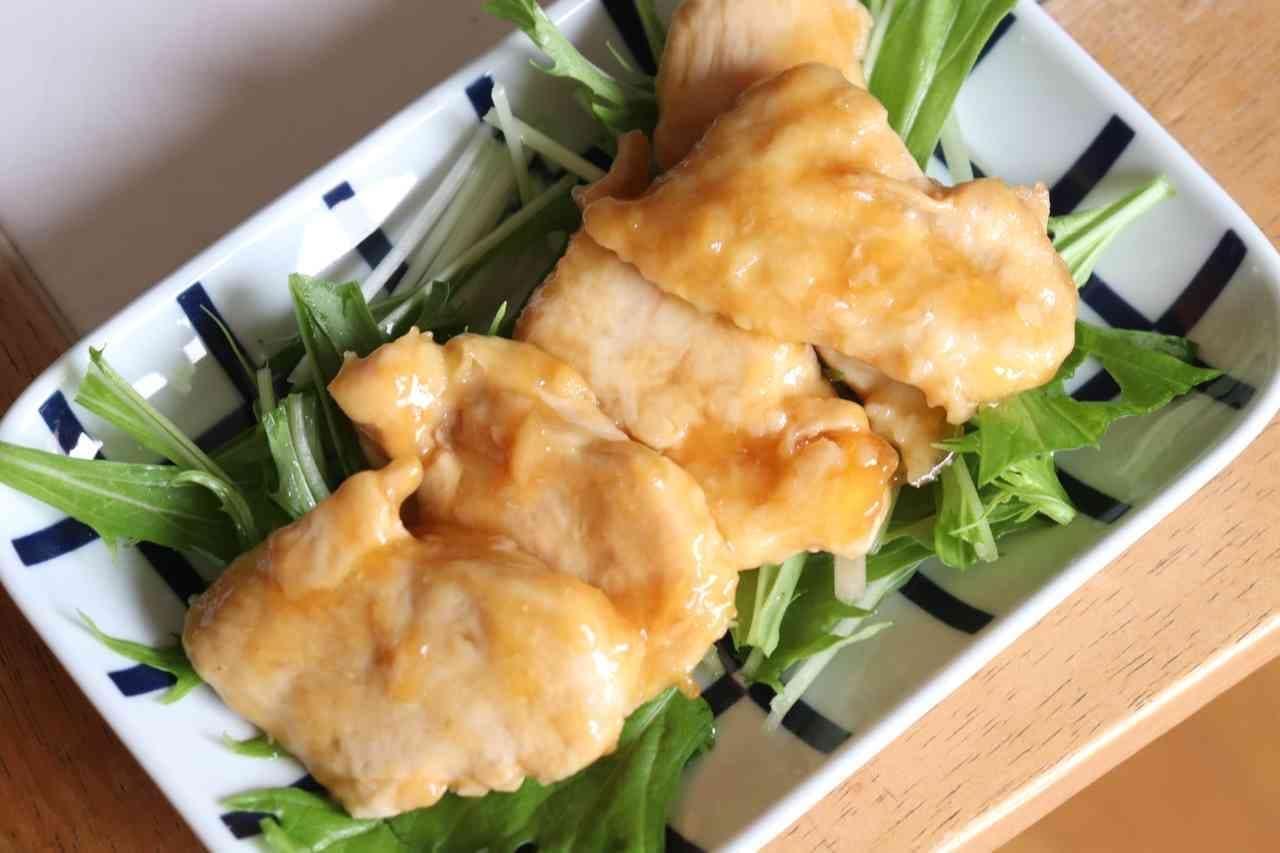 「鶏むねの甘酢煮」レシピ