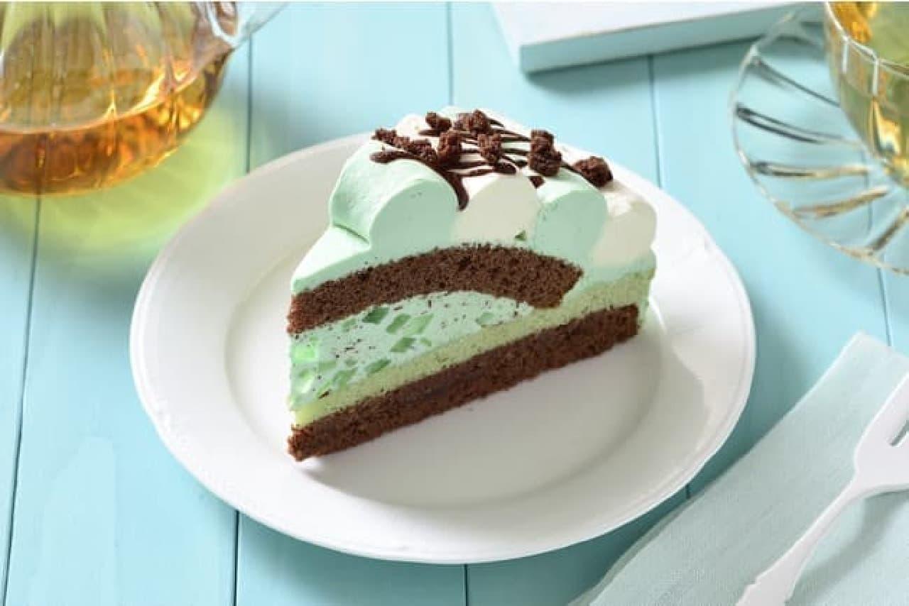 銀座コージーコーナー「チョコミントケーキ」「チョコミントサブレ」