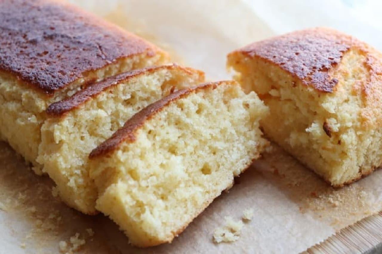 「生クリームパウンドケーキ」レシピなどHMケーキレシピまとめ