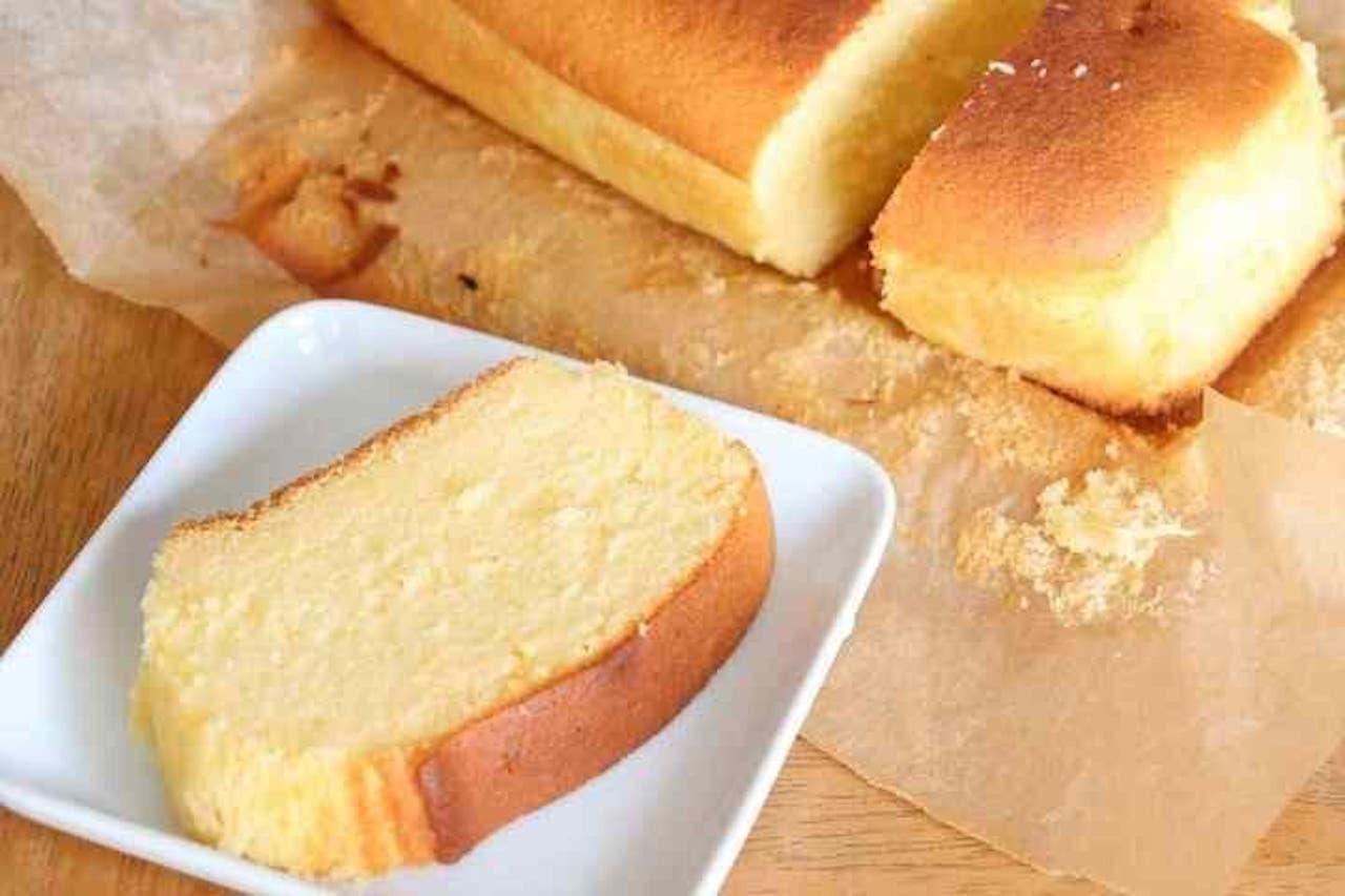 「生クリームパウンドケーキ」のレシピ