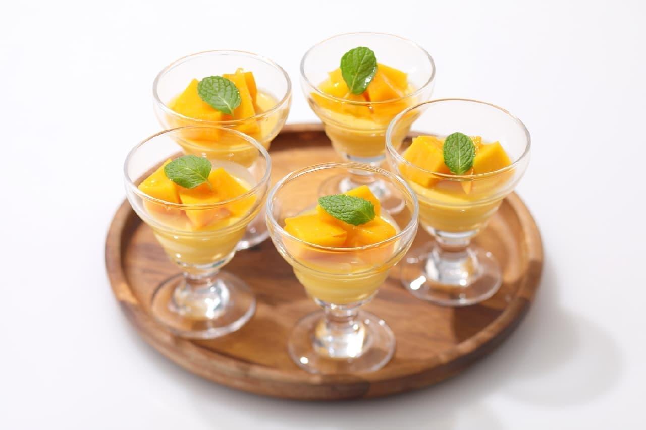 スイパラ「マンゴー食べ放題」