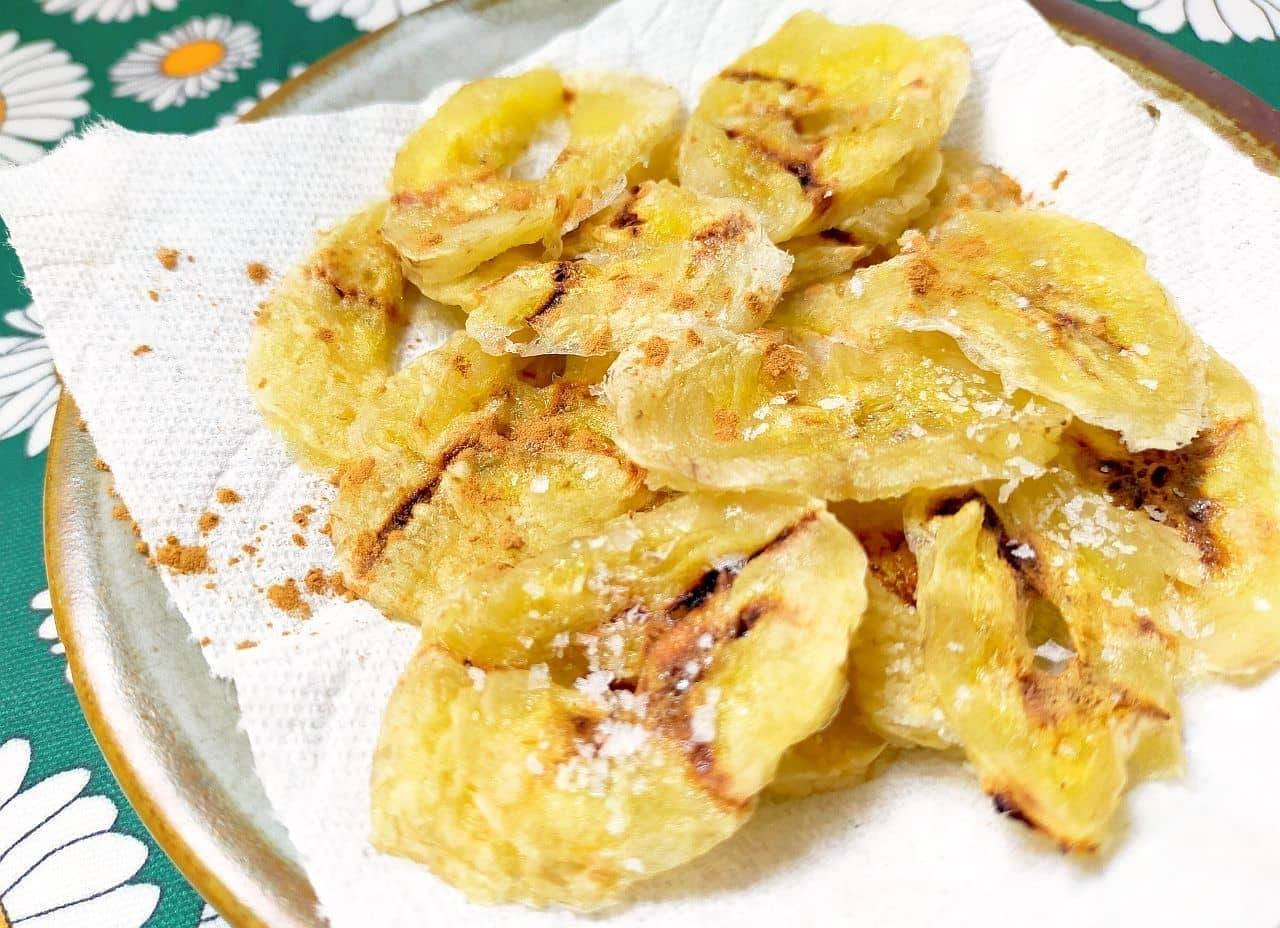 「簡単ドライバナナ」のレシピ