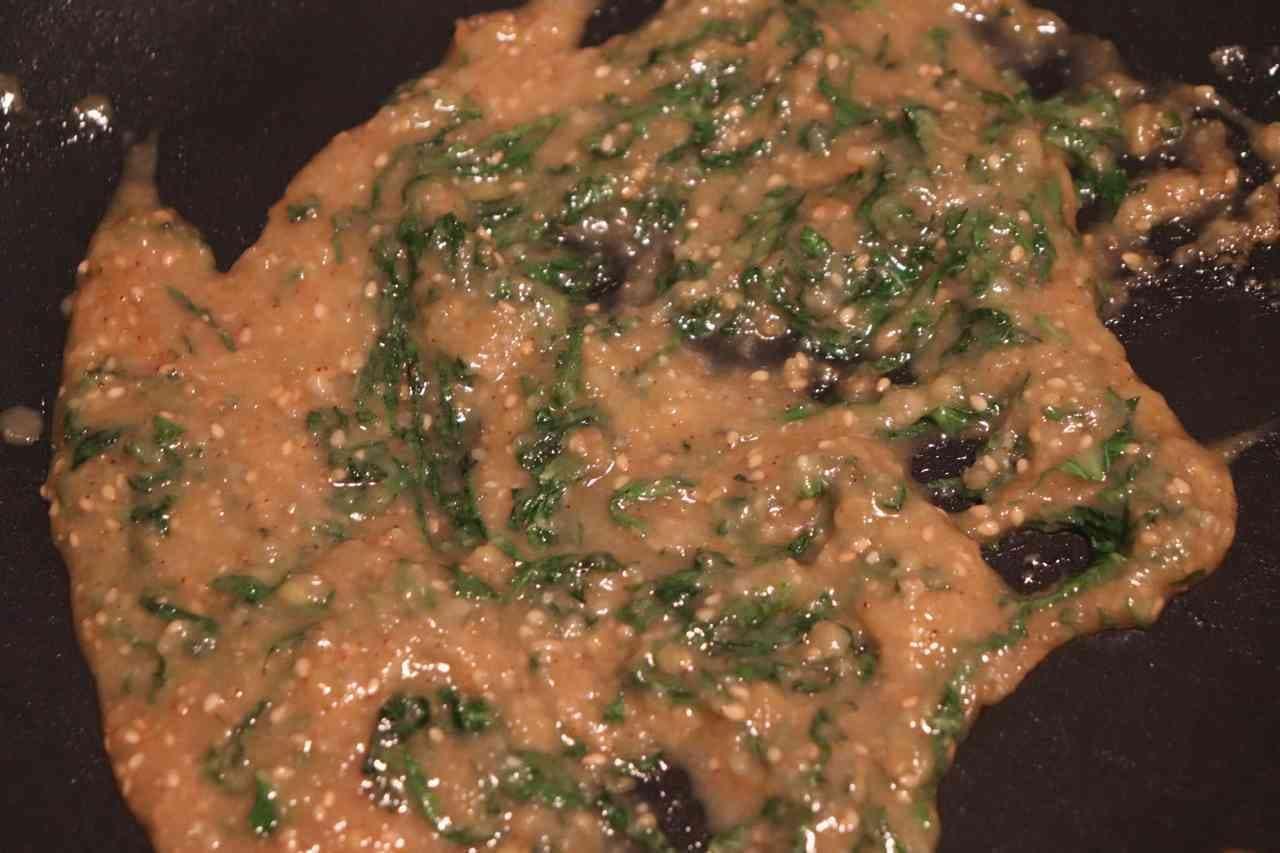 ご飯のお供「大葉味噌」レシピ