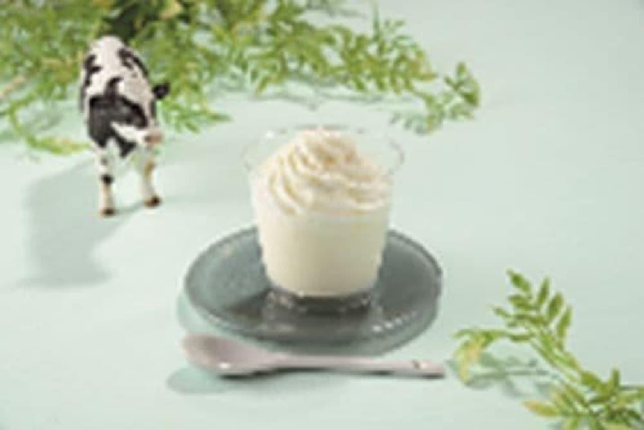 ローソン「Uchi Cafe×生クリーム専門店Milk MILKパンナコッタ」