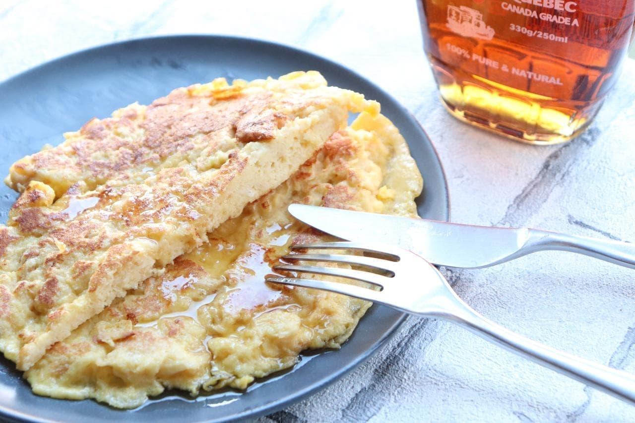 「パン粉フレンチトースト」のレシピ