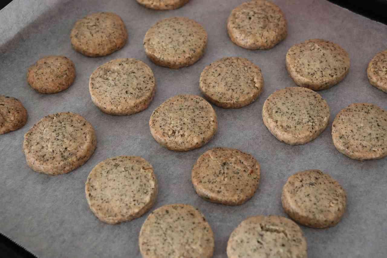 材料4つ・好きな紅茶で作る「紅茶クッキー」