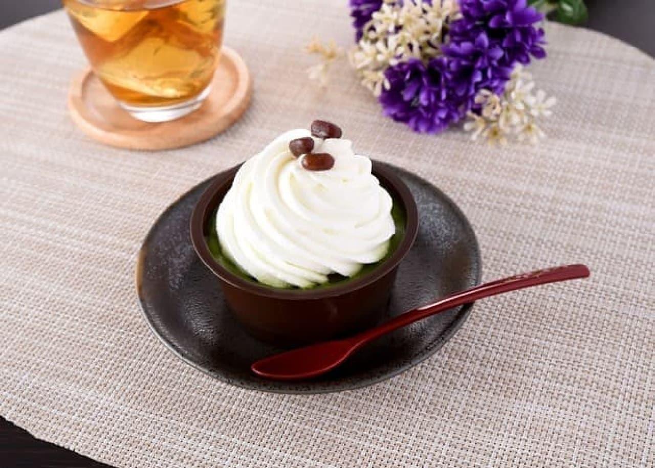ファミリーマート「クリームほおばる宇治抹茶ケーキ」