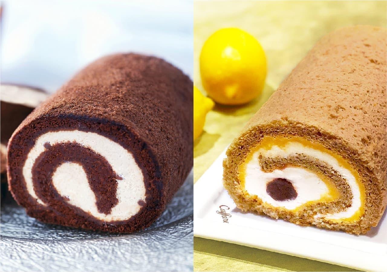 カファレルのロールケーキ