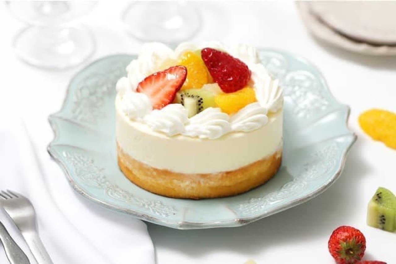 ねこねこチーズケーキ「ねこねこWチーズケーキ フルーツ」