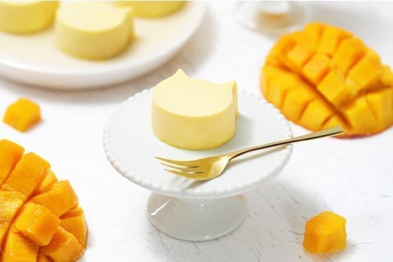 ねこねこチーズケーキ「にゃんチー マンゴー」