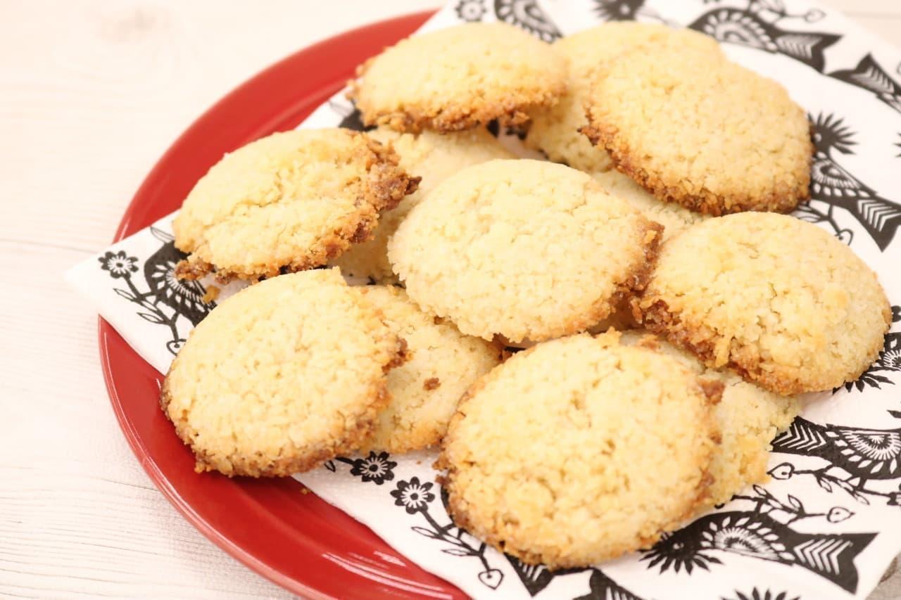 「パン粉クッキー」のレシピ