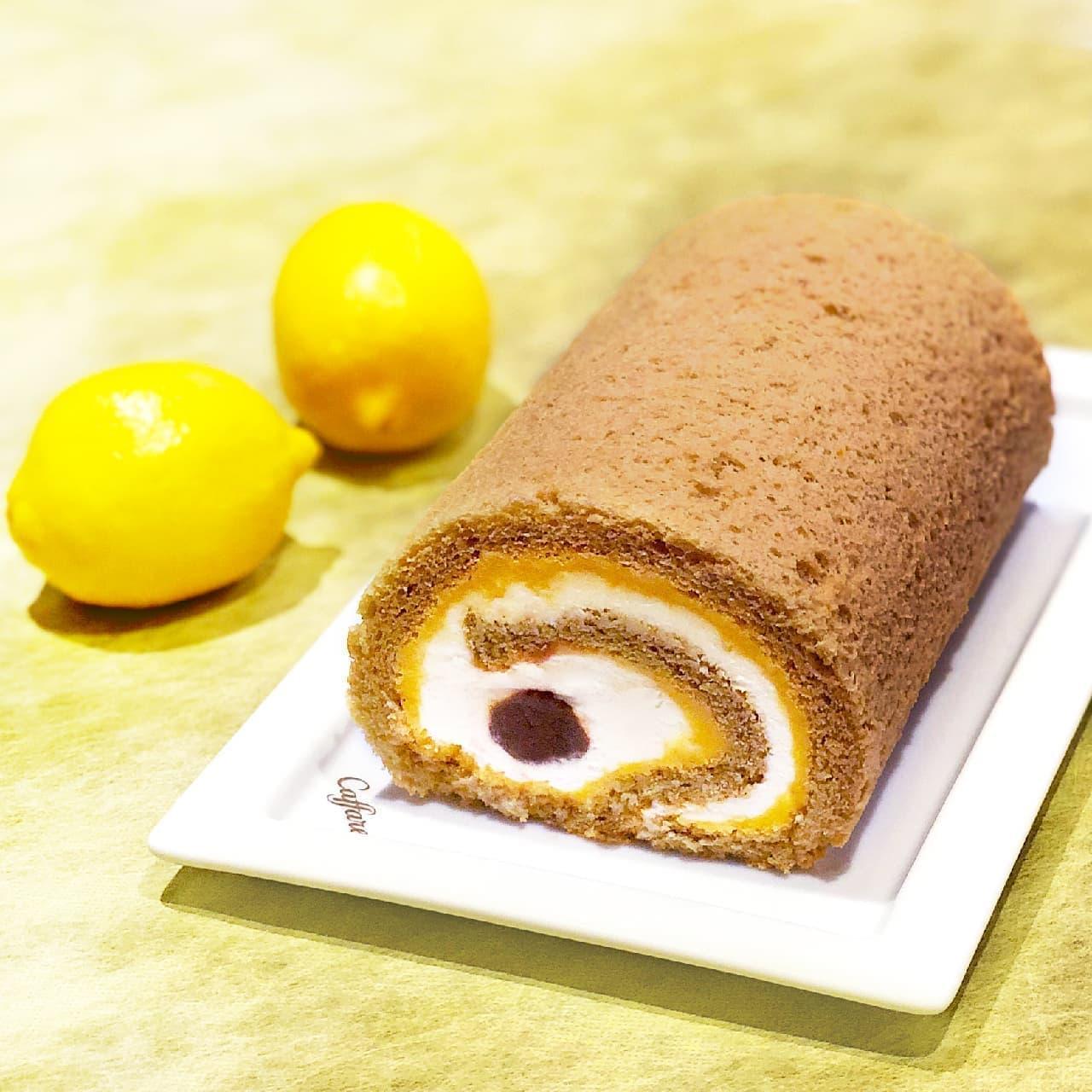 カファレルのロールケーキ「リモーネアールグレイ」