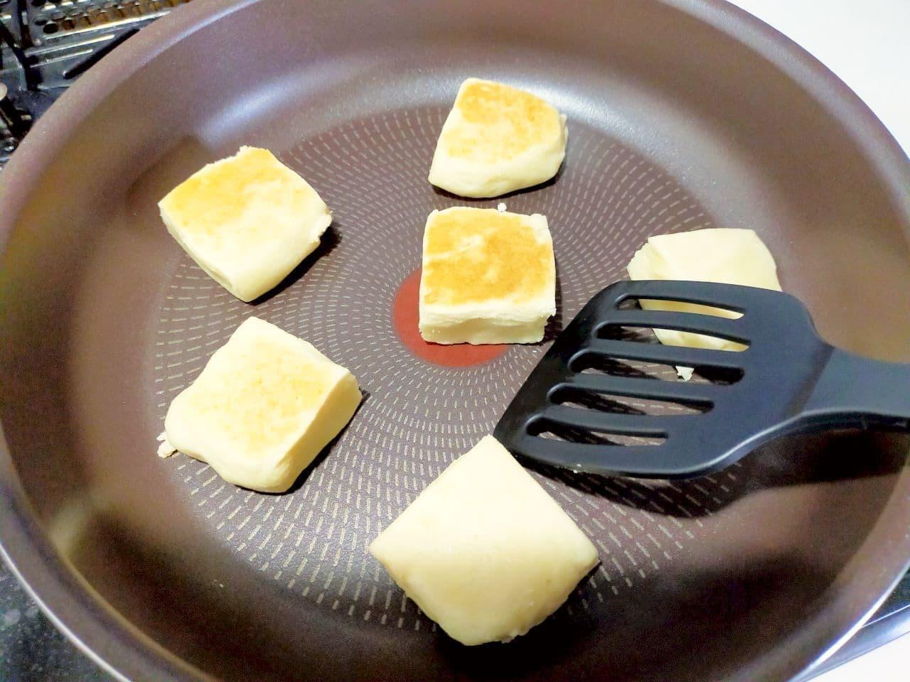 HM&フライパンで簡単「キャンプビスケット」レシピ