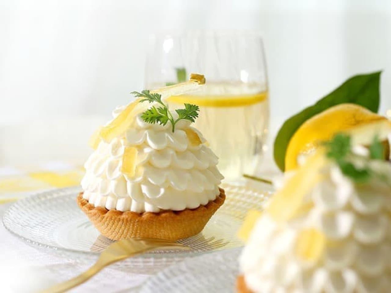 アンテノール「レモンのタルト」