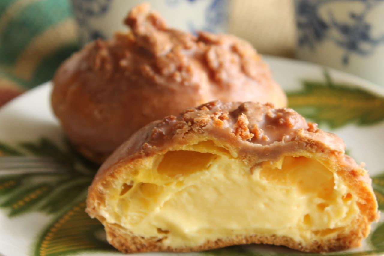ファミマ「香ばし生地のクッキーシュー」