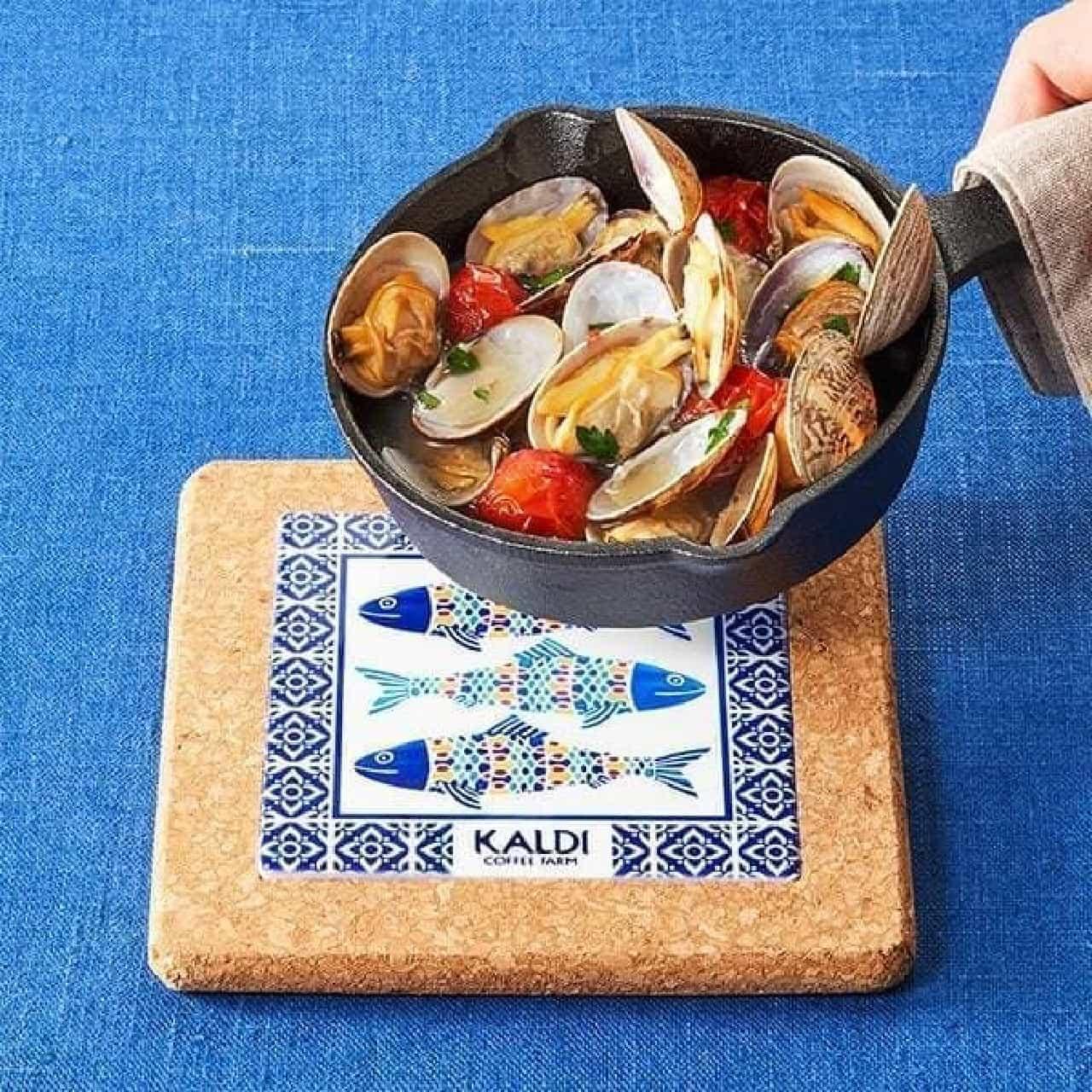 カルディスキレット&コルク鍋敷きをプレゼントするキャンペーン